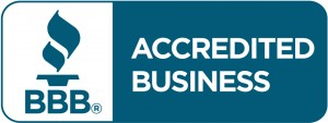 "Accredited Business Better Business Bureau ""A"" rating"